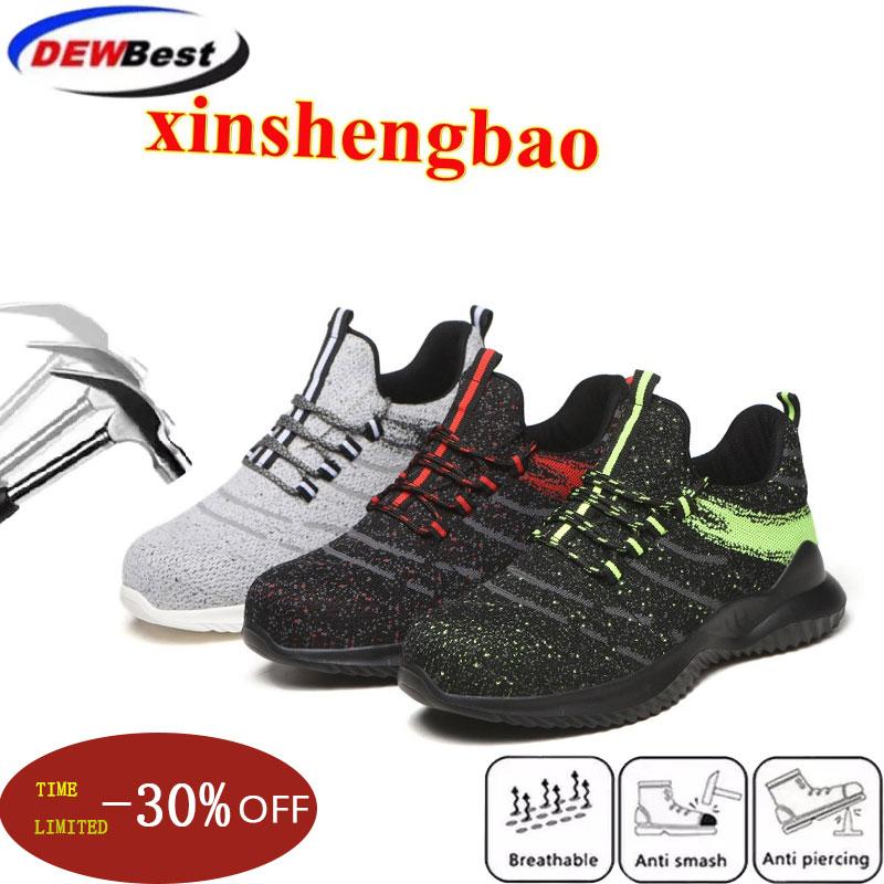 AtreGo Men/'s Indestructible Steel Toe Safety Work Shoes Bulletproof Boots 3