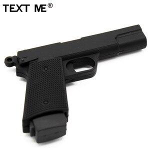 Image 2 - TEXT ME cartoon 100% prawdziwa pojemność 5 model pistolet pamięć usb 2.0 4GB 8GB 16GB 32GB pendrive 64GB usb2.0