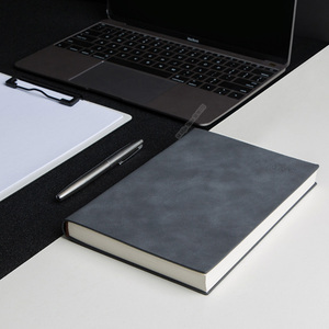 Image 5 - Youpin Guangbo Business Leather Notebook Simple Atmosphere 144 Pages Horizontal Line 2 Colors