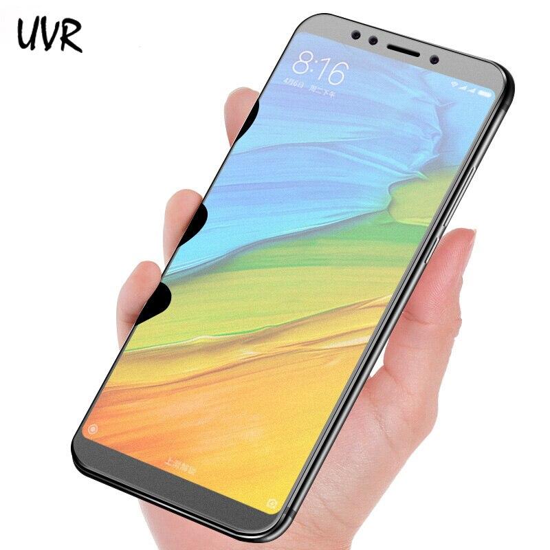 UVR matowe szkło dla Xiaomi Redmi 5 5 Plus 5A 7 7A szkło hartowane bez odcisków palców 9H Screen Protector dla Redmi 5 Plus matowe Film