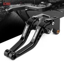 Short Brake Clutch Levers For Honda CBR600 F2 F3 F4 F4i 1991   2007 2006 2005 2004 2003 Motorbike Accessories