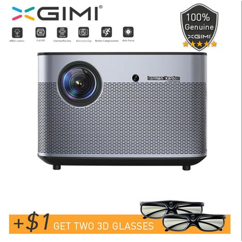 Dlp-Projector Xgimi H2 Home-Theater Full-Hd Beamer Lumens-Support Wifi Bluetooth ANSI
