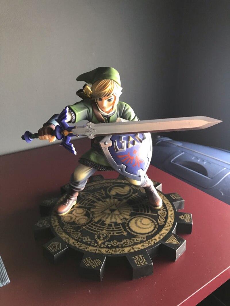 Zelda Skyward Sword PVC Action Figure 1/7 Anime Game Toy Zelda Link Action Figure Collectible Model Toy