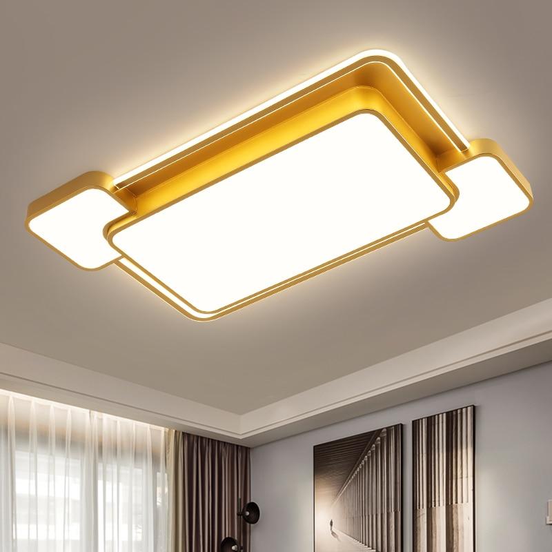 Купить новый светодиодный потолочные светильники золотая рамка для