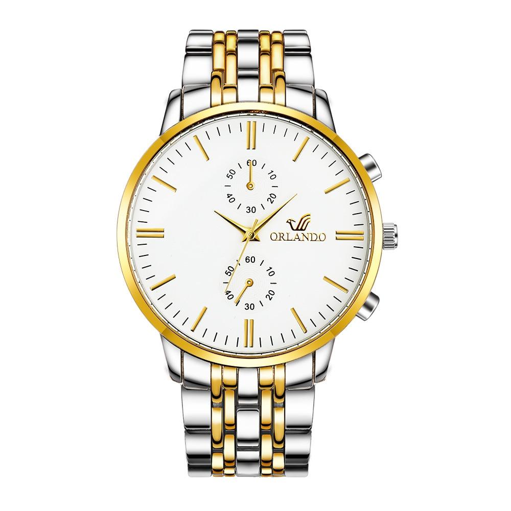 New Men's Watch Fashion Luxury Stainless Steel Watch Men Reloj Hombre Sports Watch For Men Erkek Kol Saati Men's Wrist Watches