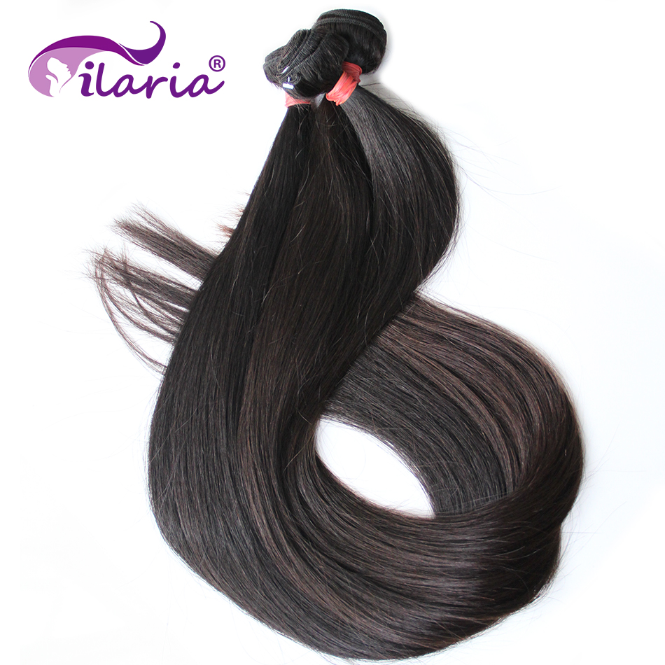 Ultimate Sale>ILARIA Hair-Extensions Weave Bundles Brazilian-Hair Straight 36-38-40inch-Bundles 100%Human-Hair