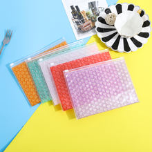 10 шт разноцветные противоударные пакеты на молнии 21 х16 см