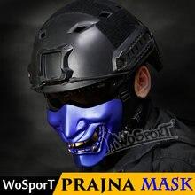 Wosport тактическая маска Хэллоуин Мяч prajna косплей Дьявол