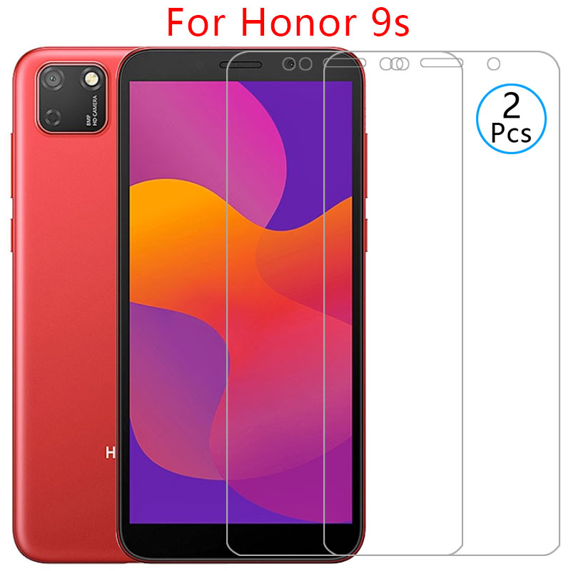 Protective Glass On Honor 9s Screen Protector Tempered Glas For Huawei Honor9s Honer 9 S S9 Film 5.45 Huawey Huwei Hawei Onor 9h