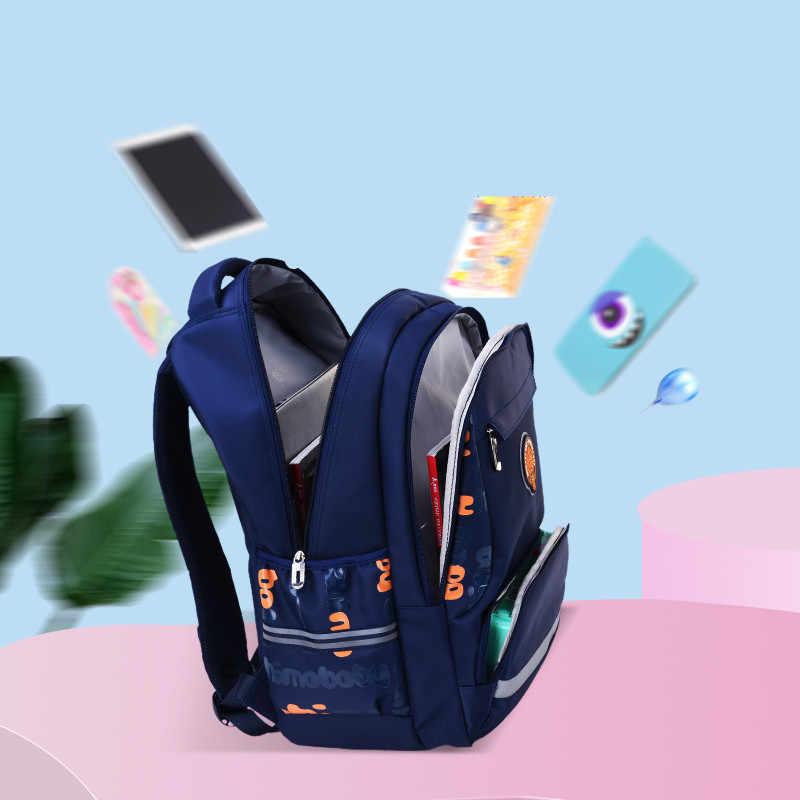 FengDong primaria sacchetti di scuola per i ragazzi studente luminoso zaino impermeabile sacchetto di scuola zaino per bambini di cancelleria sacchetto della matita della penna set