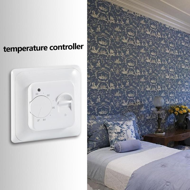 Electric Floor Heating Room Thermostat Advanced Intelligent Micro-processing Chip Warm Floor Cable Temperature Controller