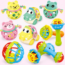 QWZ New Funny Baby Toys Little Loud Bell Ball Rattles Mobile Toy Baby Newborn Infant Intelligence Grasping Educational Toys Gift