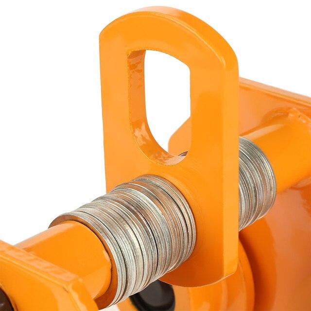 1 тонна Тяговая емкость Регулируемый из нержавеющей стали толчок тележки балки прецизионный инструмент подходит для малого ручного подъем...