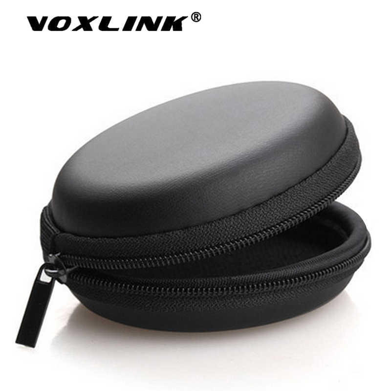 VOXLINK Mini lightweight storage Zipper storage Bag Suitable for Headphone memory card USB flash drive USB cable All small items