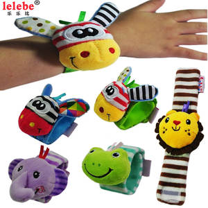 Baby Toys Wrist-Band with Complimentary Baby-Products Rattle 0-3-Years-Old