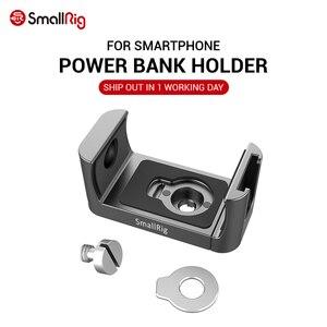 Image 1 - Портативные внешние аккумуляторы SmallRig Holder fr, внешние аккумуляторы шириной 53 81 мм с функцией холодного башмака и микрофоном для крепления 2378