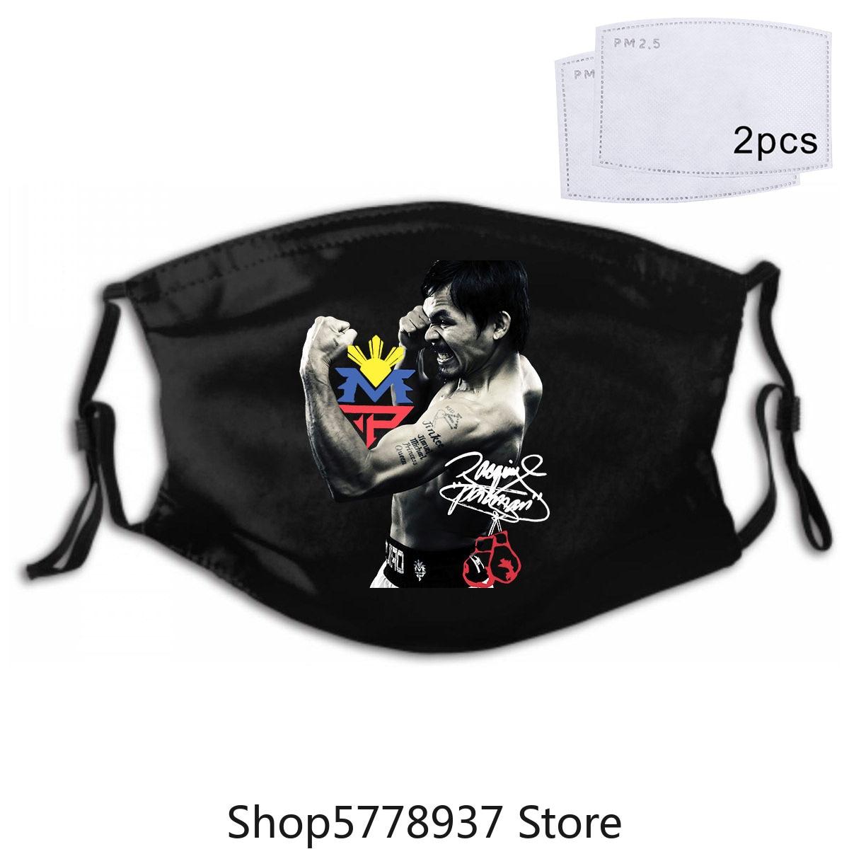Manny Pacquiao Filipino Boxing Mask Mask Mens Size Small Euc
