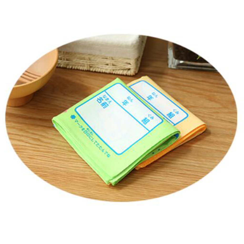 2pcs Handkerchiefs Children Cartoon Pattern Cotton Square Scarves Hankie