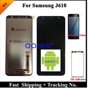 Image 2 - 100% Test  LCD Display For Samsung J610 LCD J6 Plus J610 LCD For Samsung J610 J6 Plus LCD Screen Touch Digitizer Assembly