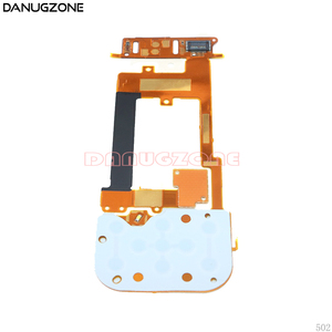 Image 4 - 10PCS/Lot For Nokia 2220 2220S LCD + Keyboard Button Board Keyboard Slide Flex Cable