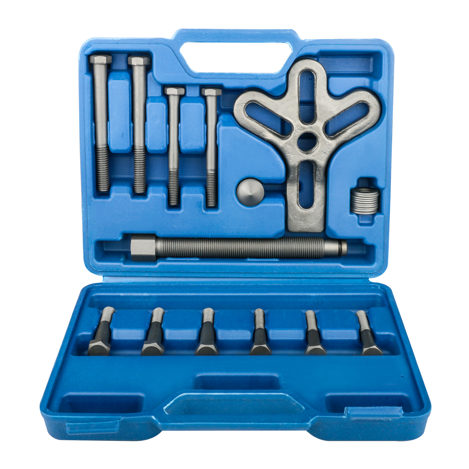 13 PCS High-Quality Steel Automotive Tool Set  Harmonic Balancer Steering Wheel Puller Repair Kit Disassembly Removal Tool Set