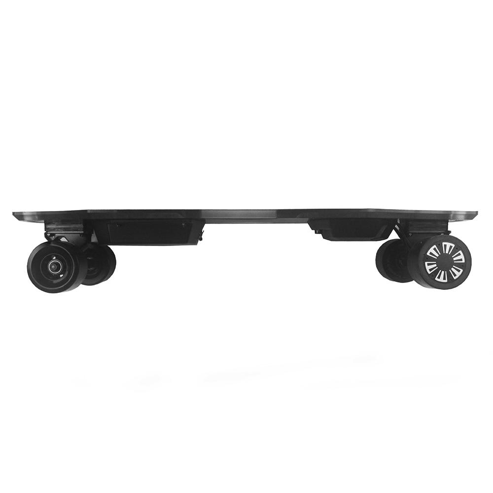 Dual Motor Electric Skateboard Electric Longboard 23MPH Top Speed LED Light Wireless Remote Control  Electric Skateboard 300W