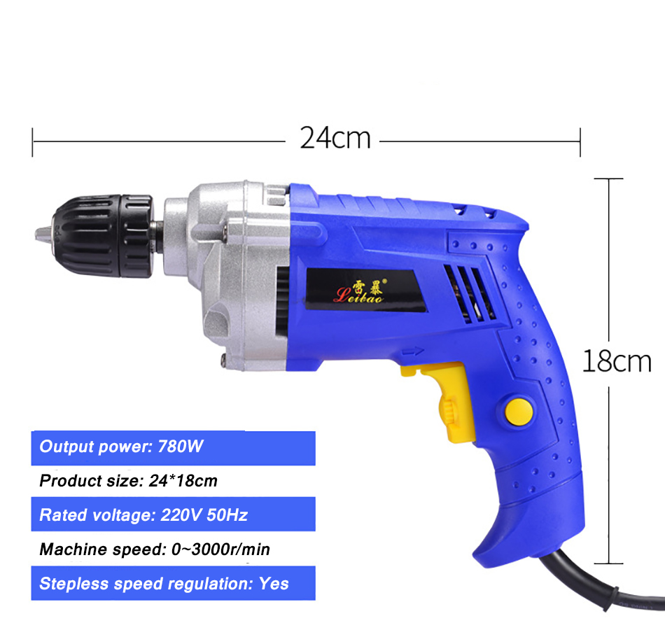 Electric drill 7