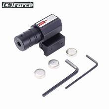 11mm 20mm Tactical Red Dot Laser Sight Scope Airsoft Pistol Rifle Adjustable Picatinny Rail 50-100M Range Hunting Gun Accessory hunting scope tactical acog 1x32 red dot sight scope optic reflex riflescope with 20mm picatinny rail for rifle m4 m16 airsoft