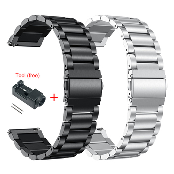 Metal Strap For Huawei Watch GT2e / GT2 46MM Honor Magic 2 Smart Band Bracelet Stainless Straps For GT 2e Wrist band Correa leather bracelet watchband wrist band for honor magic for huawei watch gt 2e gt2 46mm bracelet strap for huami amazfit gtr 47 mm