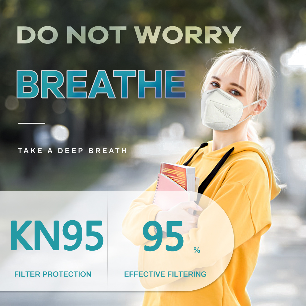 Fast Shiping KN95 Mask ffp2 Respirator 5-Layer Anti-fog Reusable Face Masks KN95 Dust Filter Protective Mouth mask Cover 2