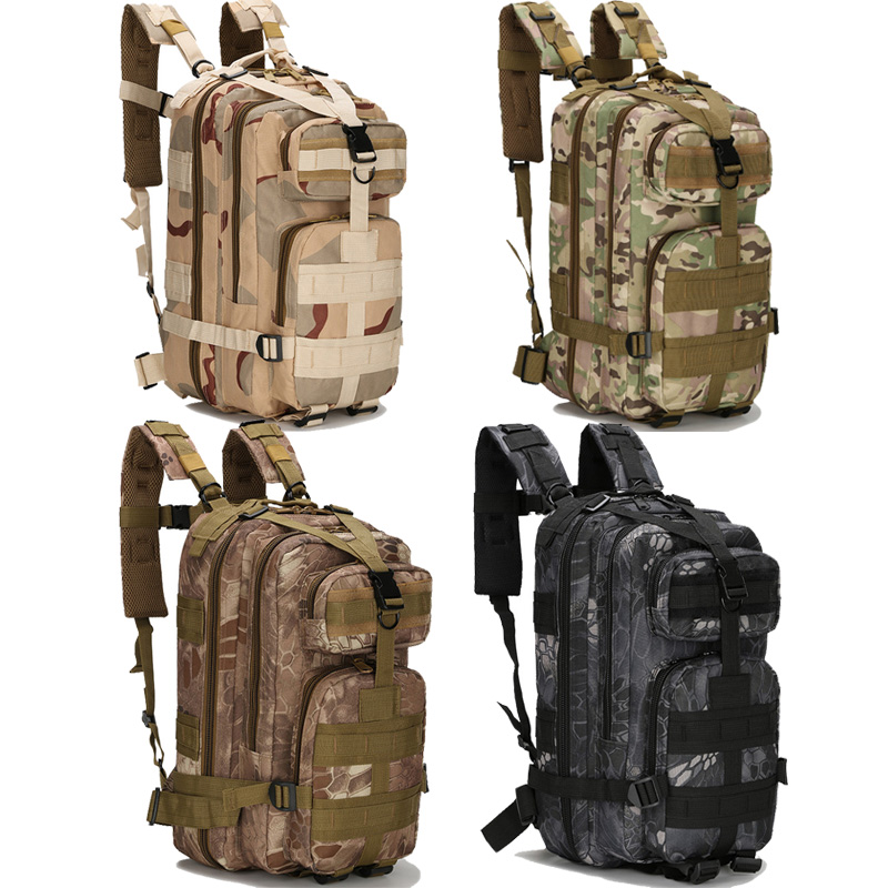 Outdoor Military Rucksacks Nylon 30L Waterproof Tactical Backpack Sports Camping Hiking Trekking Fishing Hunting Bags ZDD6162