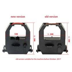 10-50 sztuk 1.8M czarny i czerwony Stylus wstążki drukarki dla AMANO EX EX3000 EX5000 EX6000 EX6200 EX9200 EX9500 PIX PIX3000 PIX3200 PIX6000