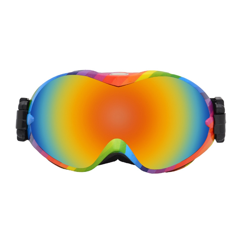 Double Layer Spherical Ski Goggles Windproof Anti-fog Outdoor Climbing Sports Protective Glasses Eyewear Accessories
