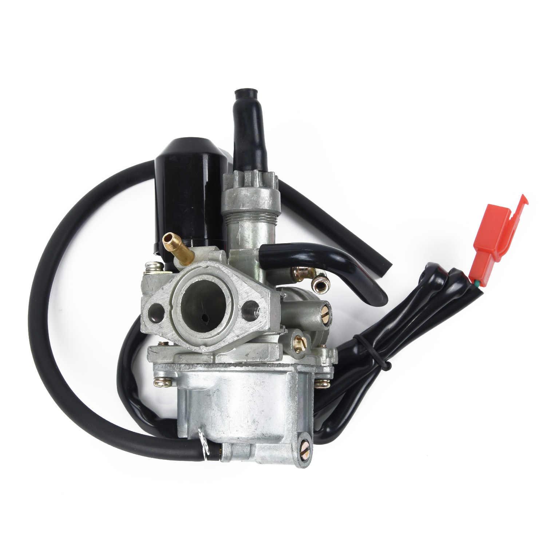 Bộ chế hòa khí (17mm) PZ17 Dành Cho Xe Honda DIO 50cc 24 30 Lược 50 SP ZX34 35 SYM Kymco Phần