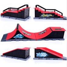 Finger скейтборды скейт парк рампы части для Tech Deck Fingerboard Finger Board Ultimate Parks Fingerboard игрушки для детей Подарки