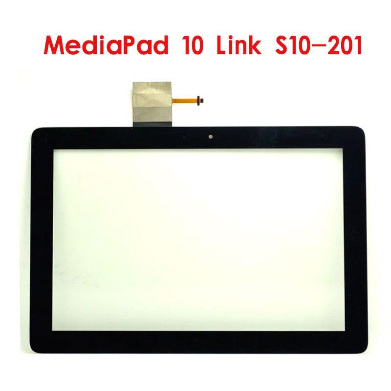 10.1 polegada para huawei mediapad 10 link S10-201 S10-201U S10-201W S10-201WA digitador da tela de toque painel vidro substituição tablet pc