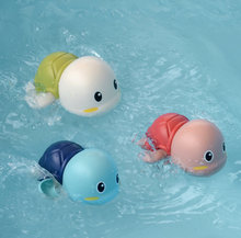 1 шт милые Мультяшные Черепашки Игрушки для ванны Классические