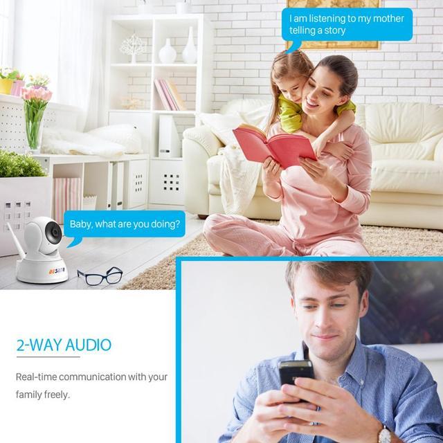 1080P Home Security IP WiFi  Kamara Ku Audio Ku Cloud Storage 4