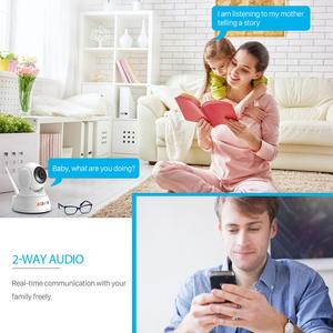 Image 4 - BESDER 1080P אבטחת בית IP המצלמה שתי דרך אודיו אלחוטי מיני מצלמה ראיית לילה Cctv WIFI מצלמה ענן אחסון תינוק צג