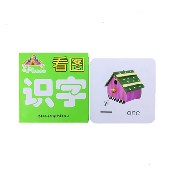English & Chinese Kids Book Characters Cards Learn Chinese 108 word with Pinyin for children/painting/color/art/comi books libro фото