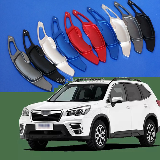 For Subaru Legacy Forester Outback WRX Levorg XV Aluminum Car Steering Wheel Shift Paddle Shifter Gear Extention
