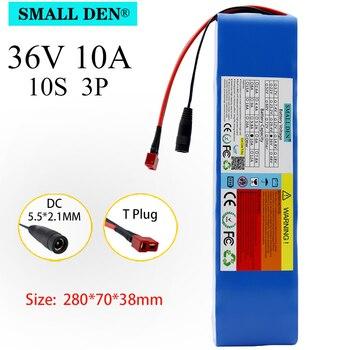 Paquete de batería de litio de 36V 18650 10S3P 15A BMS, adecuado para Scooter E Twow Scooter Ebike fuente de alimentación de respaldo