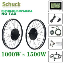 Conversion-Kit Ebike Electric-Bicycle 1500W Brushless SCHUCK 48V 20-29inch Motor-Wheel