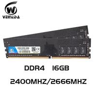 Ddr4 16 gb PC computadora RAM 8GB 16 GB Memoria DDR 4 PC4 2400 2666Mhz escritorio DDR4 placa base Memoria 288-pin