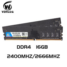 Ddr4 16 Gb Pc Computer Ram 8 Gb 16 Gb Geheugen Ddr 4 PC4 2400 2666Mhz Desktop DDR4 Moederbord memoria 288-Pin(China)