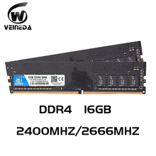 Ddr4 16 gb PC RAM Del Computer 8GB 16GB di Memoria DDR 4 PC4 2400 2666Mhz Desktop di DDR4 Scheda Madre memoria 288-pin
