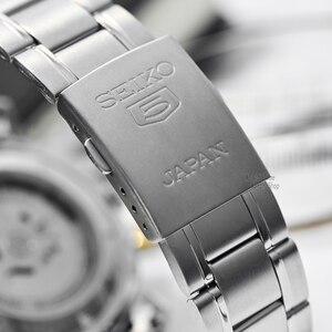Image 4 - セイコー腕時計メンズ 5 腕時計自動セットトップ高級ブランド防水スポーツメンズ腕時計メンズ腕時計防水watchrelogio masculino