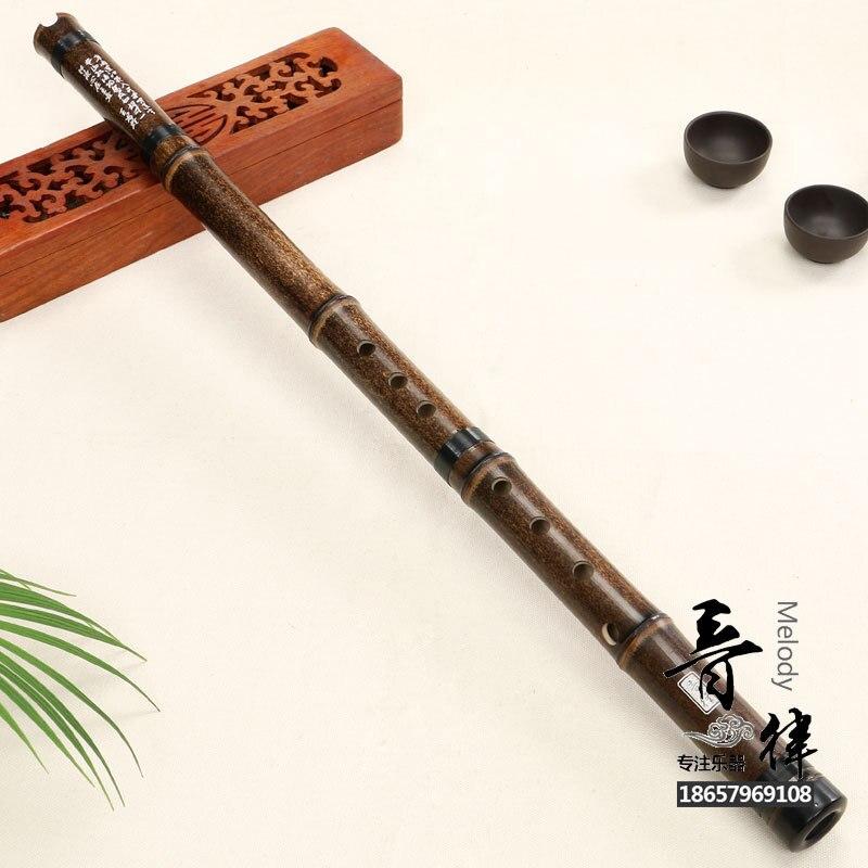 Черная бамбуковая китайская бамбуковая флейта с Секцией duan xiao вертикальный удар для взрослых 8 отверстий для начинающих народных духовых инструментов для игры в мяч
