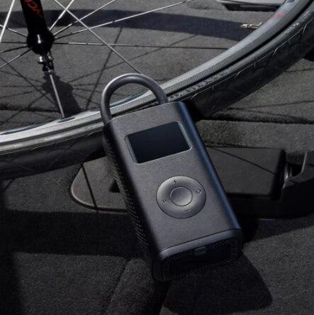 원래 xiaomi Mijia Inflator 휴대용 스마트 디지털 타이어 압력 센서 오토바이 오토바이 자동차 축구에 대 한 전기 펌프