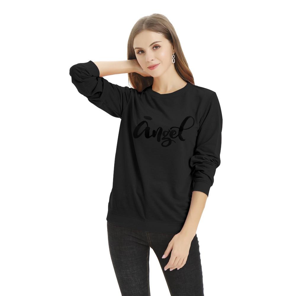 2020 Explosion Models Women's Loose Half-month Long-sleeved Sweatshirt Women's Fashion Casual